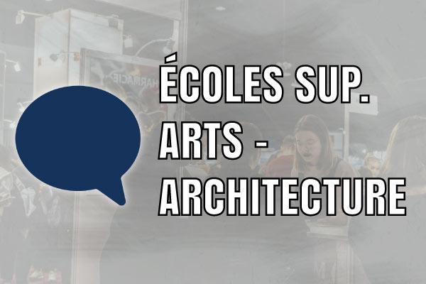 Ecoles sup. arts & architecture