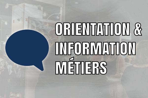 Orientation information metiers