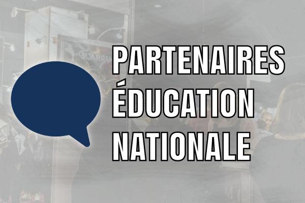 Partenaires éducation nationale